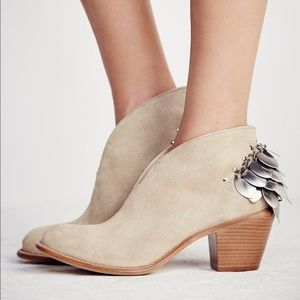 Free People x Matisse Leather Double Jay Booties